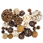 Natural Decorative Spheres
